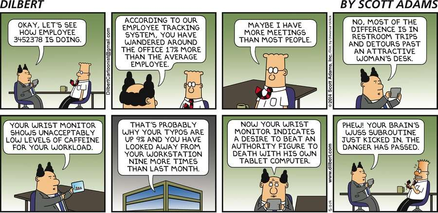 Managing Employee Data the Dilbert Way